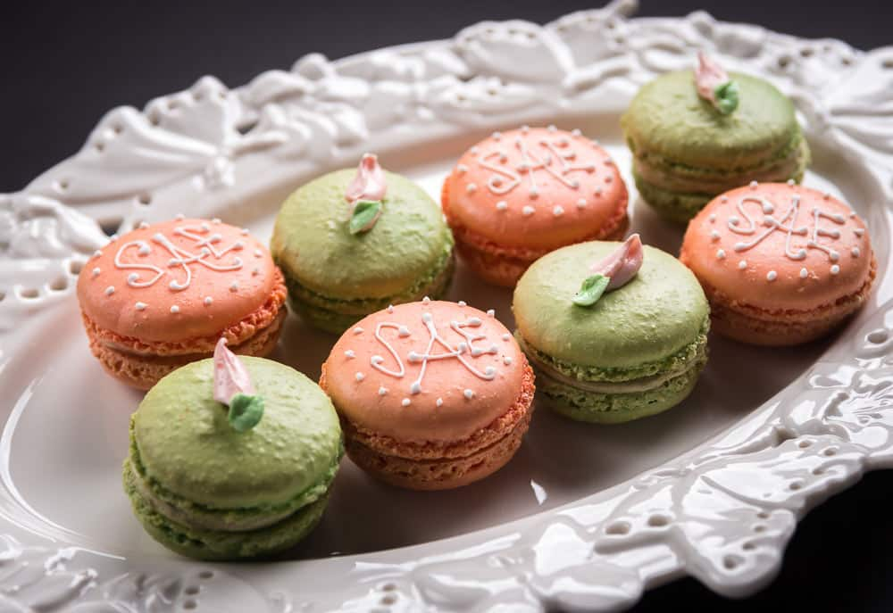 Macaron favors by Ellie's