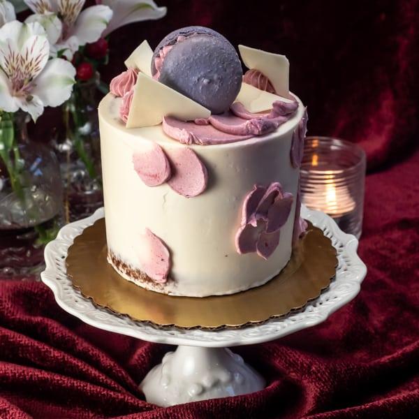 "Mon Fleur 4"" Cake"
