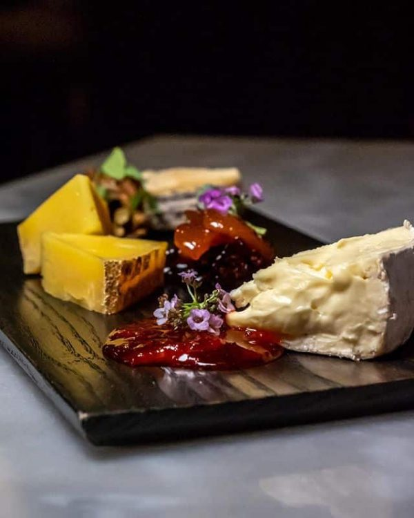 Chef's Selection of 3 Cheeses + Accoutrements