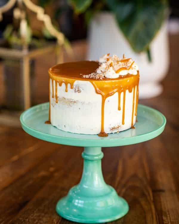 Apple Walnut Carrot Cake