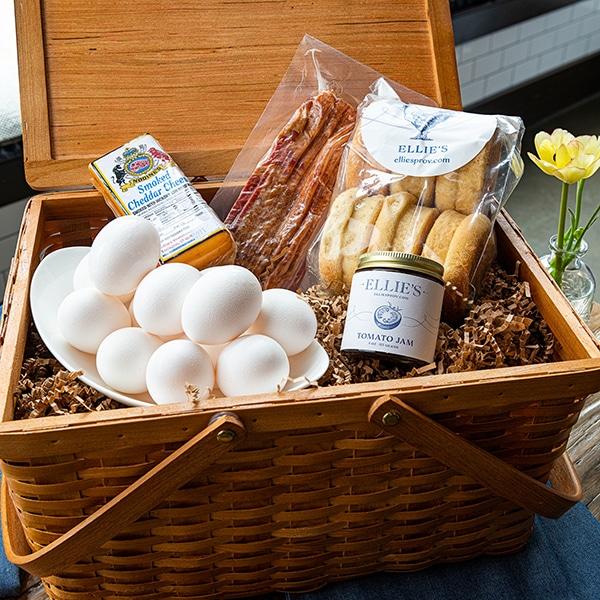 Breakfast Sandwich Basket